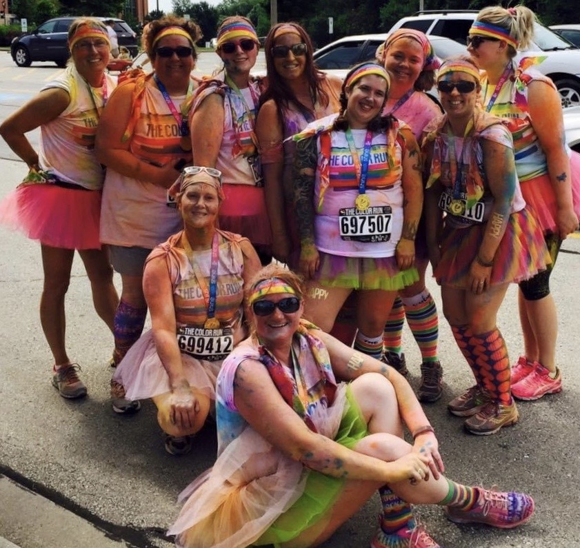 Color Run With Friends