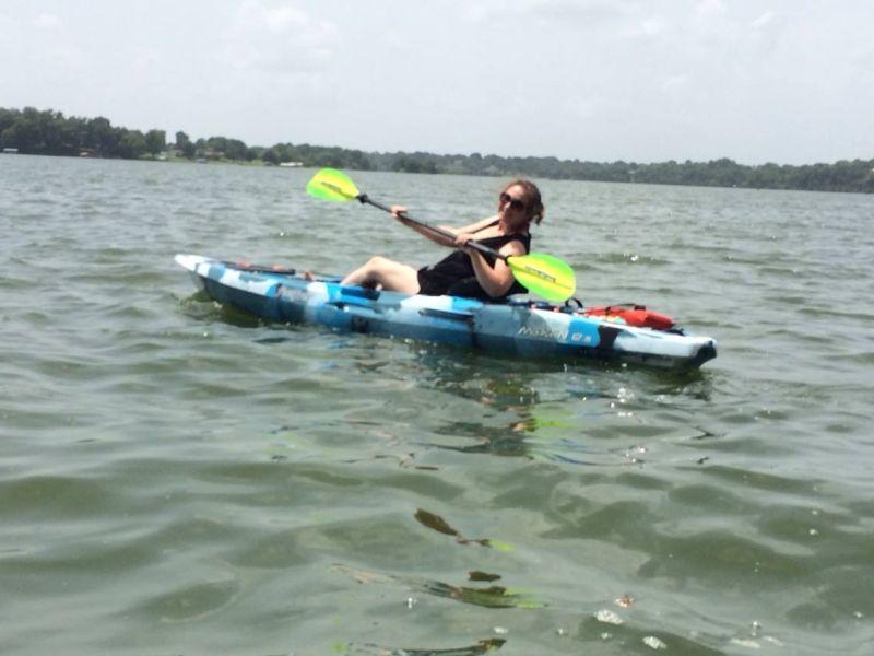 Holly Kayaking