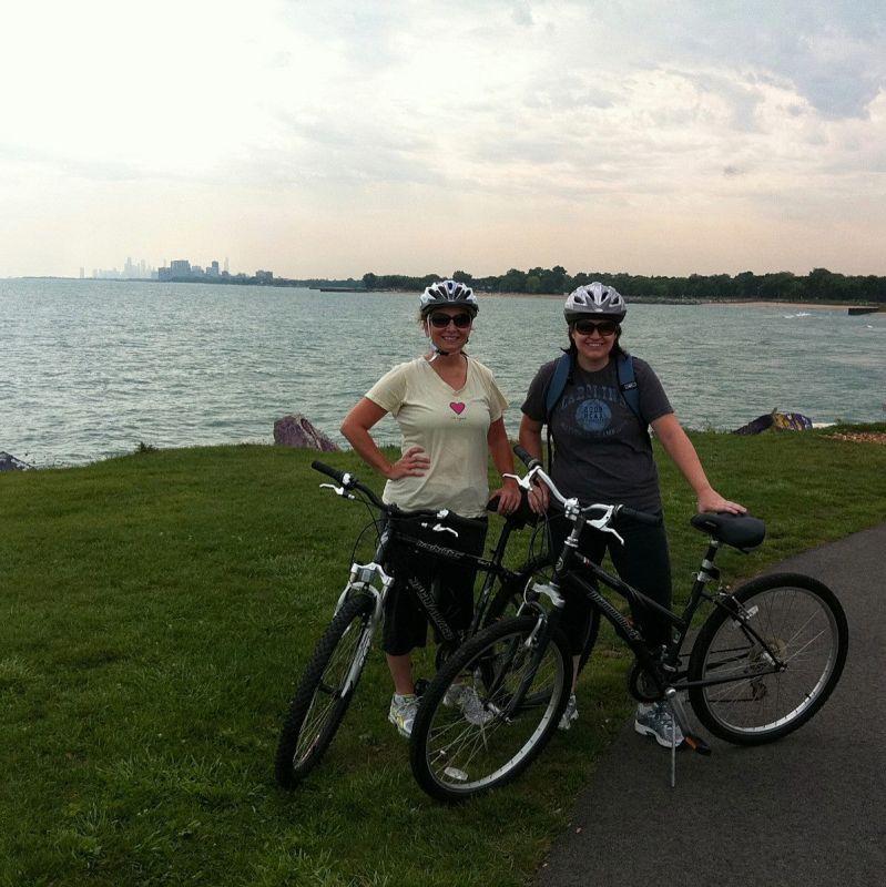 Bike Ride Near Lake Michigan
