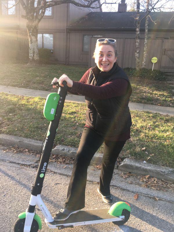 A Spontaneous Scooter Adventure