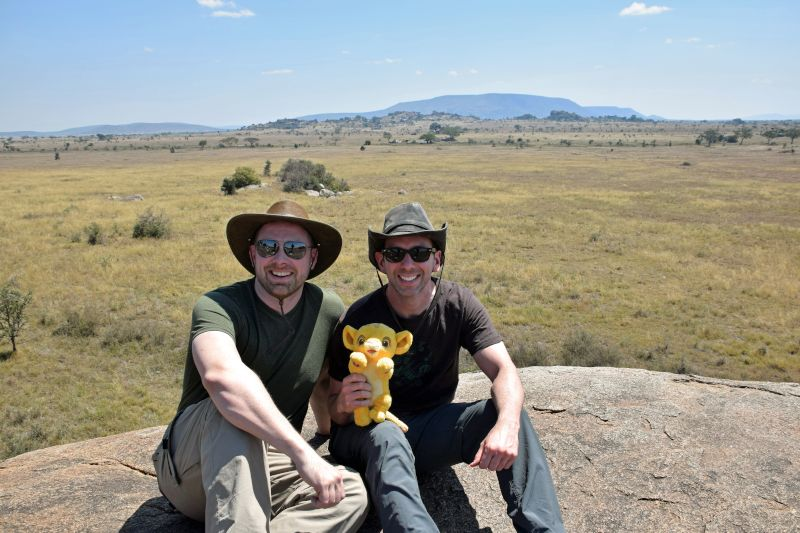 African Safari with Simba