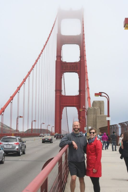 Stacey & Her Brother in San Francisco