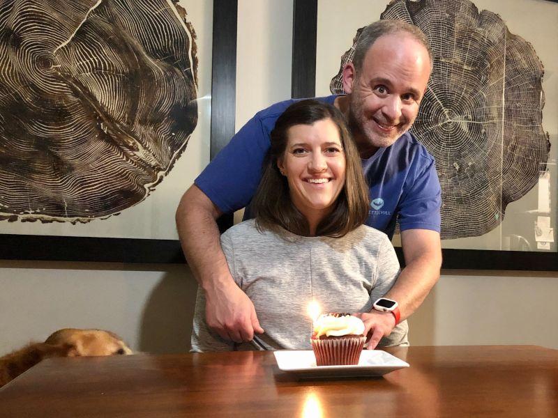 Stacey's Birthday Cupcake