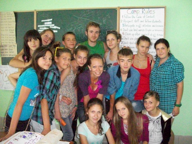 Our First Summer Together,  Volunteering in Ukraine