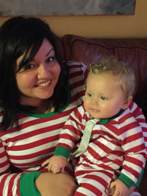 Matching Christmas Jammies!
