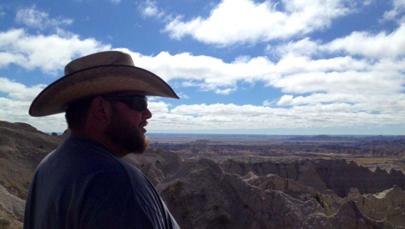Michael Exploring South Dakota