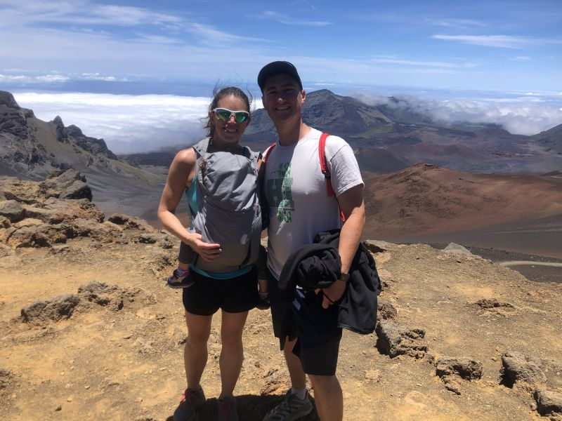 On Top of Haleakala Volcano!