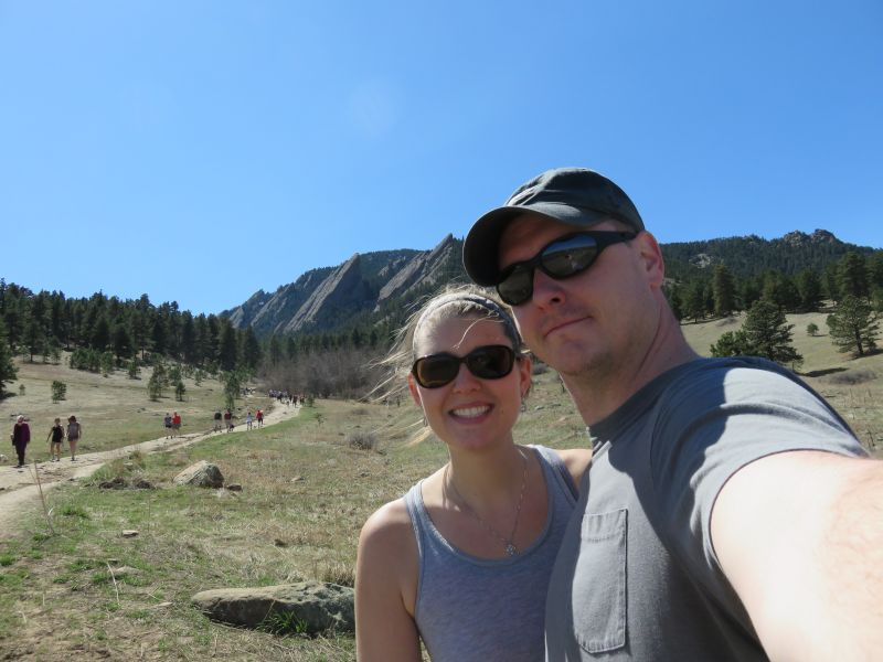 After Hiking Pikes Peak in Colorado