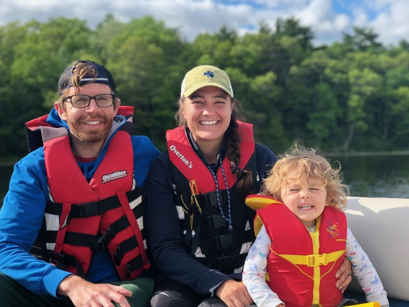 Boat Ride at the Lake