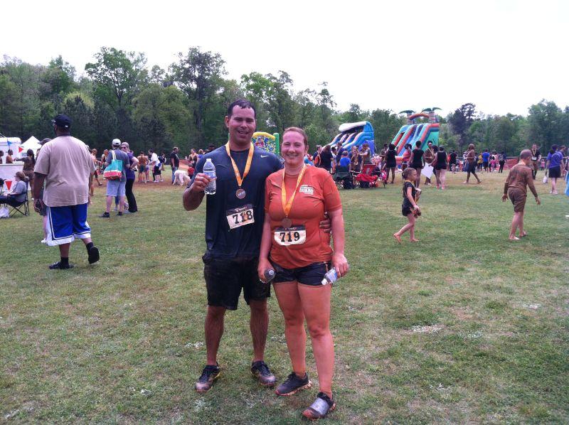 Mud Run Finishers