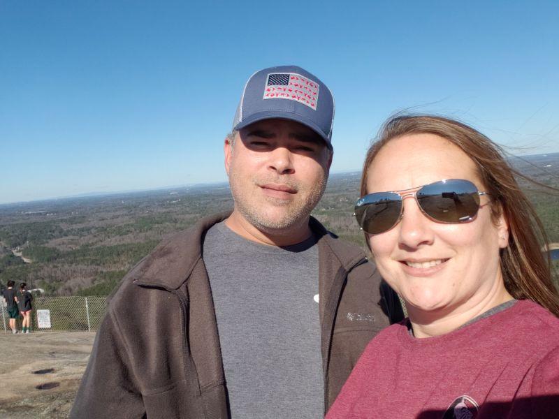 On Top of Stone Mountain