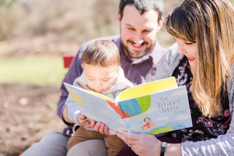 Reading With Our Former Foster Child