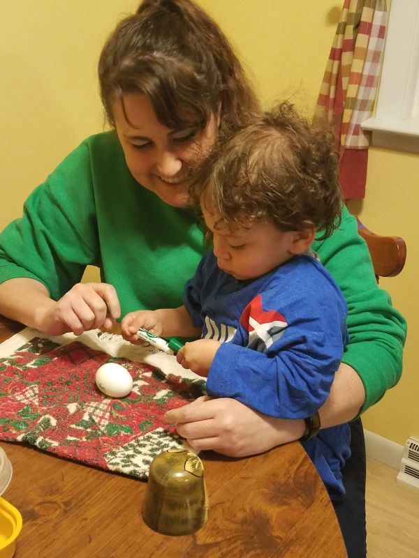 Crafts With Our Former Foster Child
