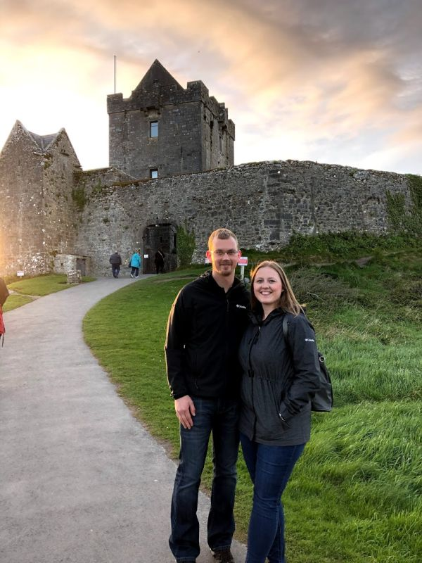 Checking Out a Castle in Ireland