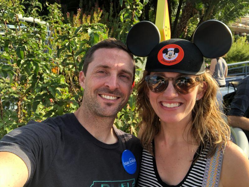 Visiting Mickey!