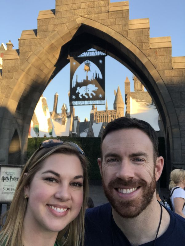 Visiting Harry Potter