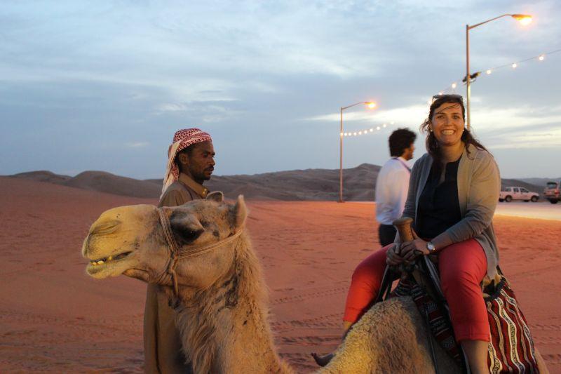 Camel Ride in Saudi Arabia