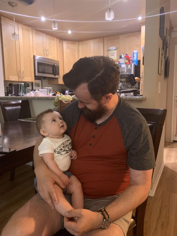 Babies Are Fascinated by Charles' Beard