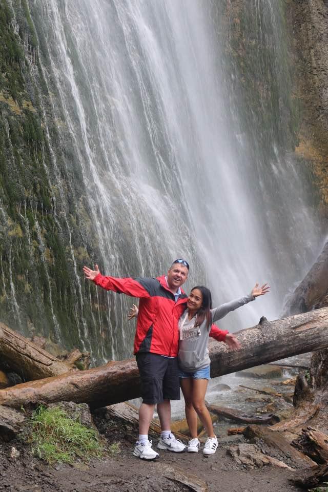 Bridal Veil Falls in Canada