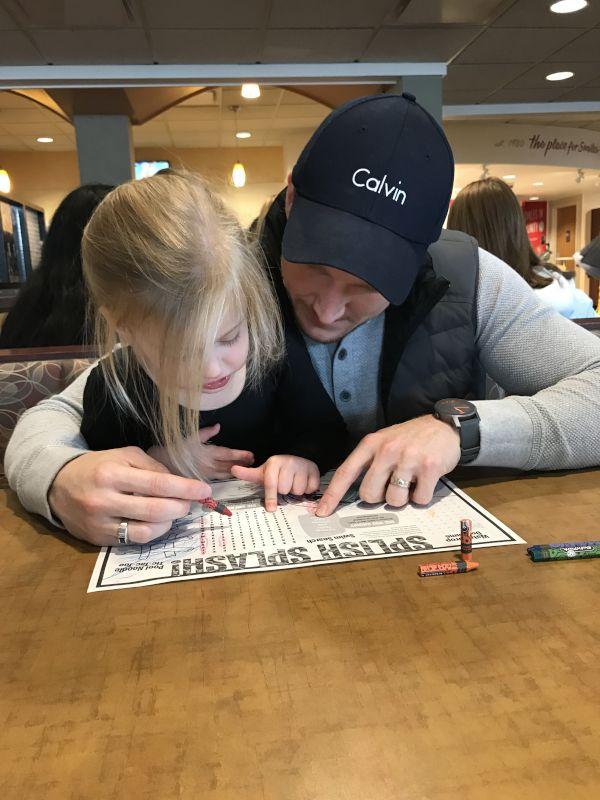 Helping Our Niece with a Crossword