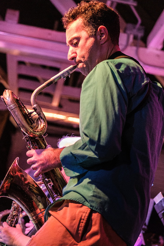 Scott Playing Sax