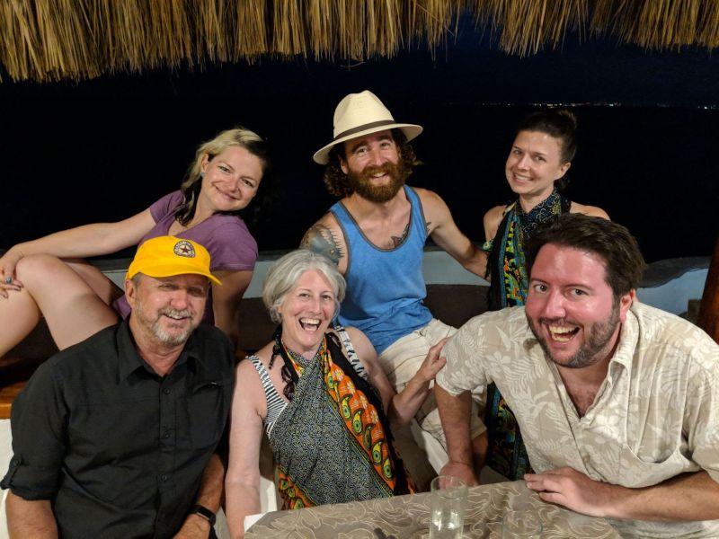 Puerto Vallarta with Dana's Family