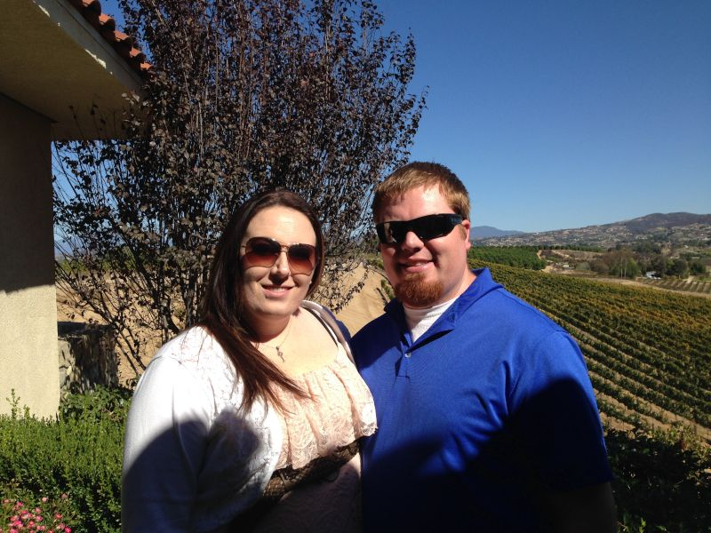 Enjoying the Views of Wine Country