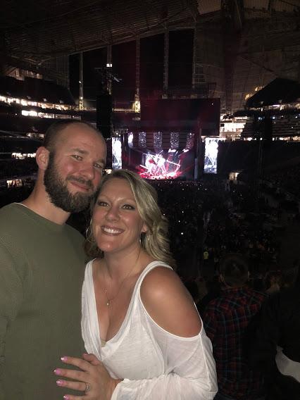Enjoying an Ed Sheeran Concert
