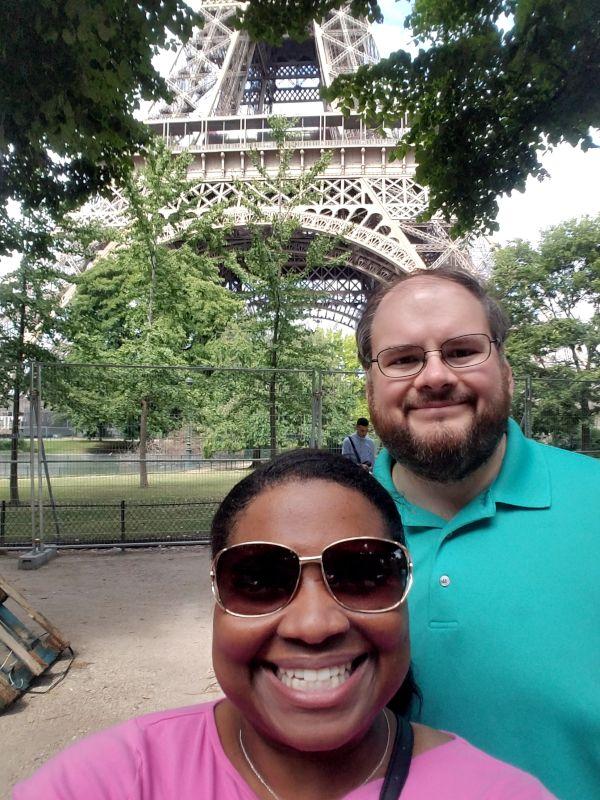 On Our Honeymoon in Paris