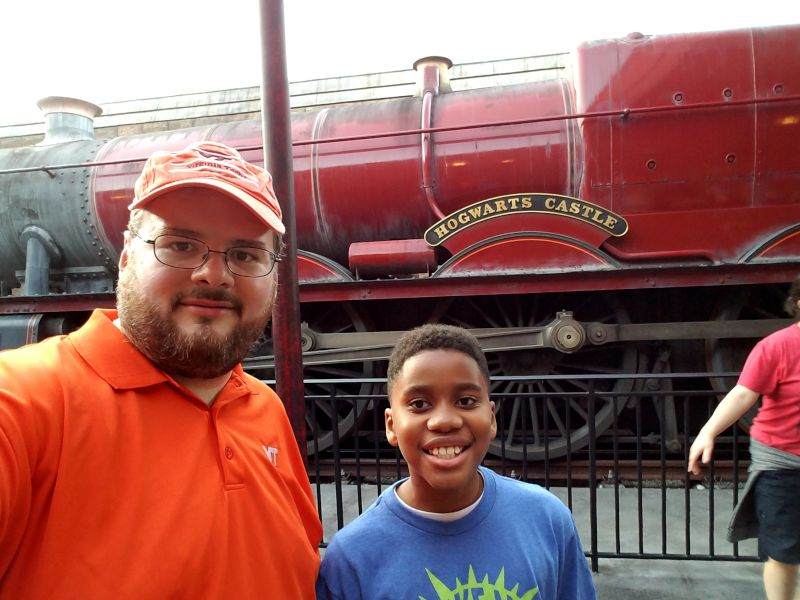 Hogwarts Express With Our Nephew