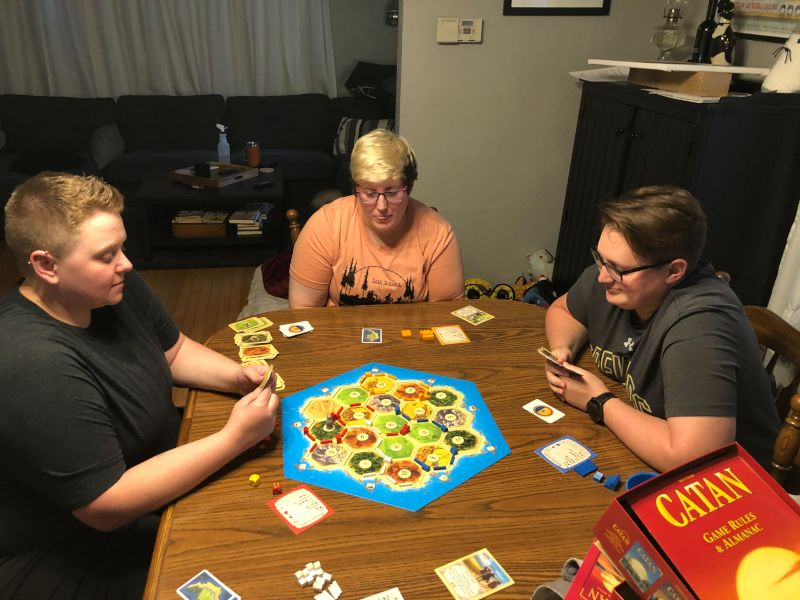 Catan With Friends