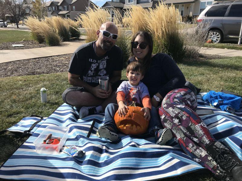 Carving Our Jack-O-Lantern