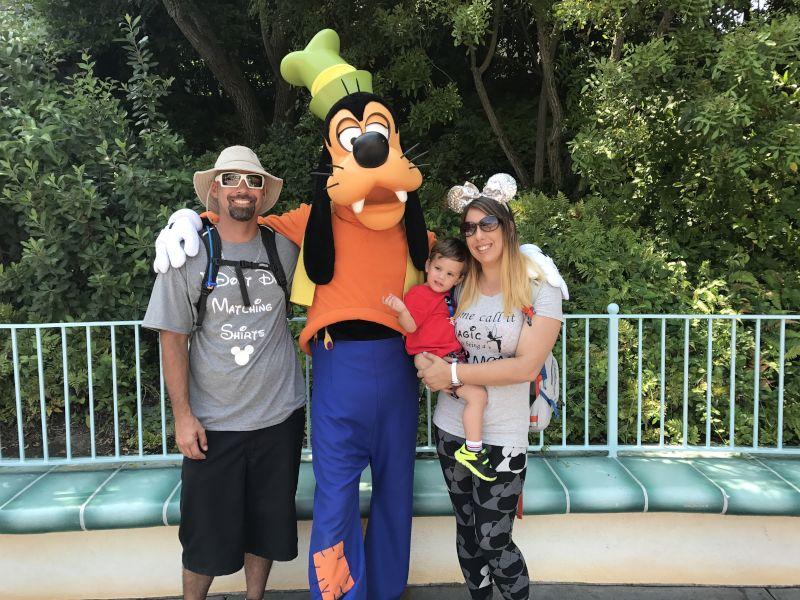 Goofing Around at Disney