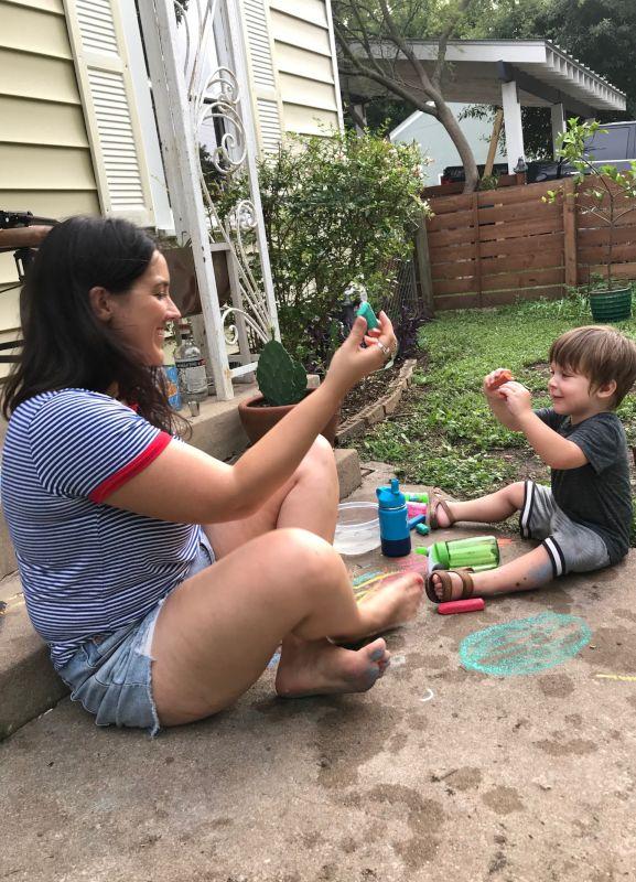 Chalk Talk With a Neighbor