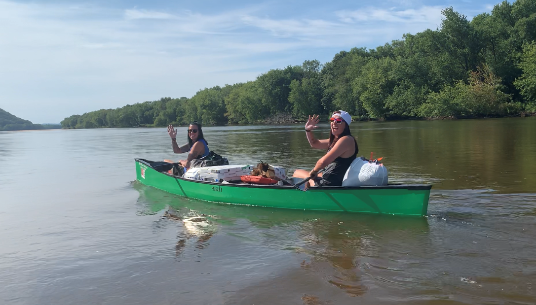 Canoe Trip on the River