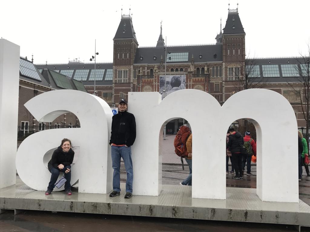 Having Fun in Amsterdam