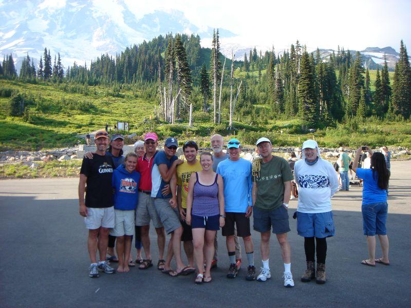 Climbing Mount Rainier With Friends