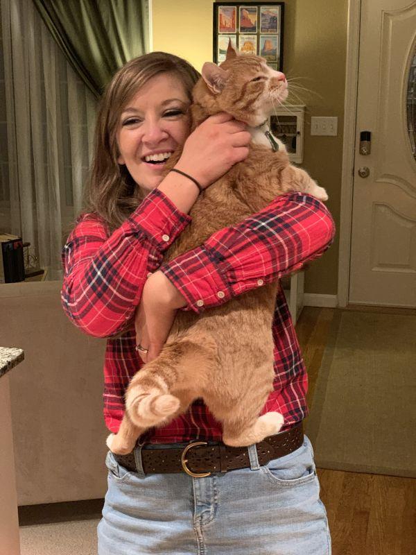 Alex & Our Cat, Peggy