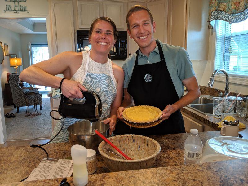 Cooking at Nana's House
