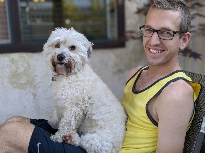 Ryan & Our Pup, Reggie