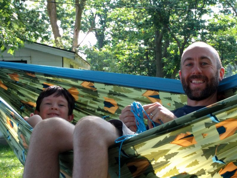 Hanging Out in the Hammock
