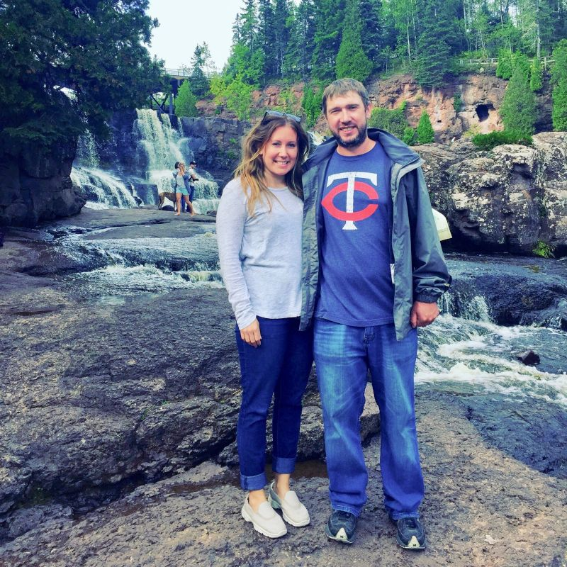 At Gooseberry Falls