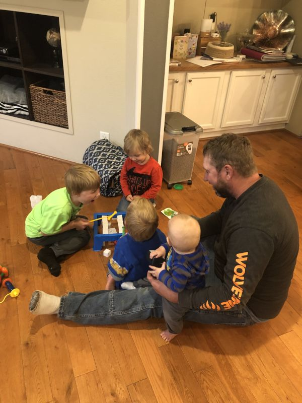 Playing a Game With Our Nephews