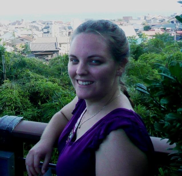 Heather in Tokyo, Japan