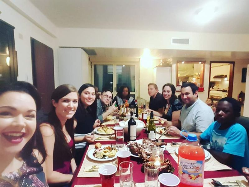 Thanksgiving With Our Military Family