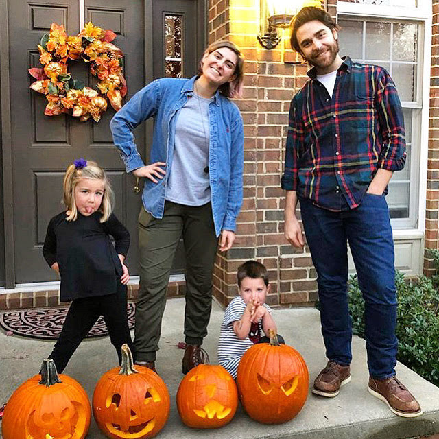 Showing Off Our Pumpkins