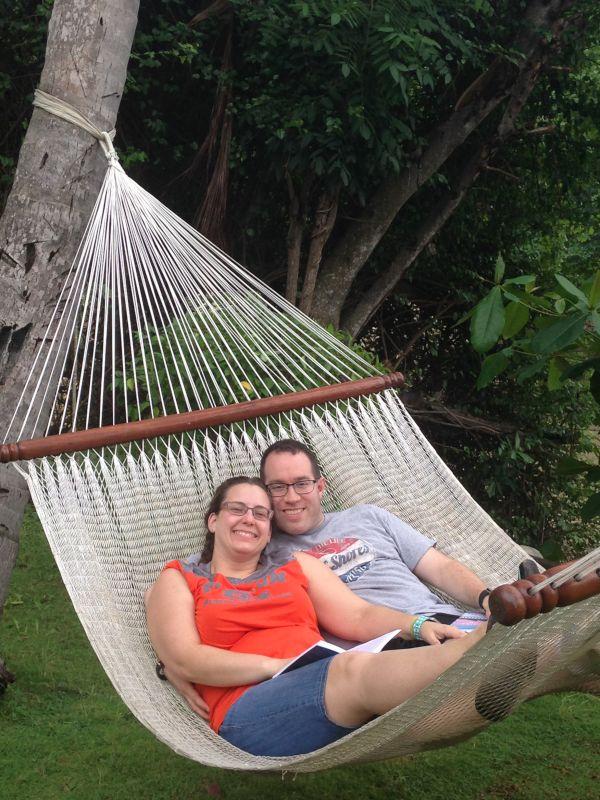 Relaxing in Haiti