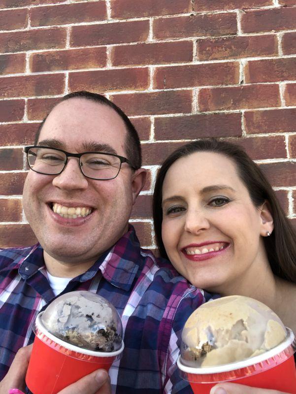 Anniversary Ice Cream Date