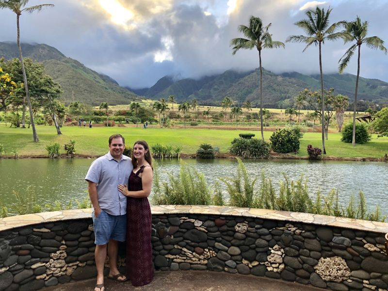 Out to Dinner in Hawaii