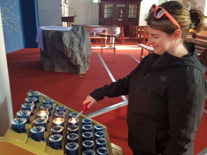 At Dawn's Family Church in Ireland